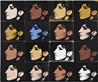 16 barbras (from jewish jackie series) by deborah kass