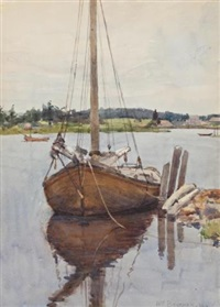 the black schooner by william brymner