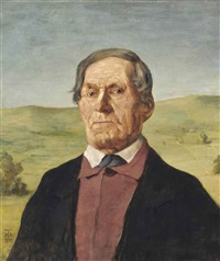 onkel ludwig maier by hans thoma