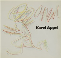 personnage by karel appel