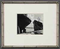 gulf oil tanker by edward weston