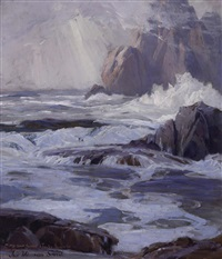 rocky coast by jack wilkinson smith