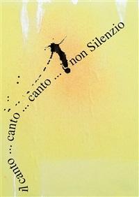 il canto... canto... canto... e non silenzio, 2002 tecnica mista su carta applicata su faesite cm. 38x26 by ugo carrega