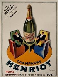 champagne henriot by roger de valerio