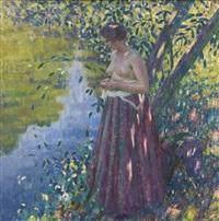 au bord de la rivière by louis ritman
