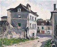 vieille maison, rue de la butte de chapeau rouge, st. gervais by jean robert ithier