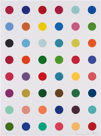 untitled from re obect mythos portfolio by damien hirst
