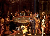 the marriage at cana by francois de sertival legrand