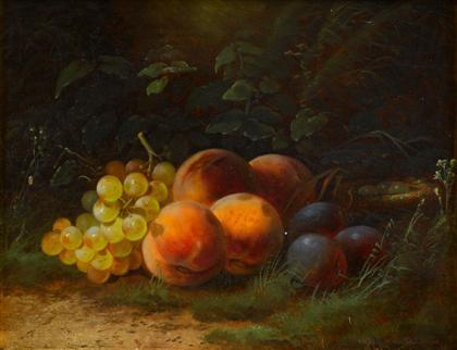 peaches by william merritt chase