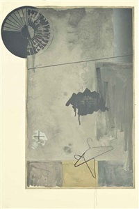 evian by jasper johns