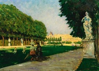 the tapis vert, versailles by james carroll beckwith