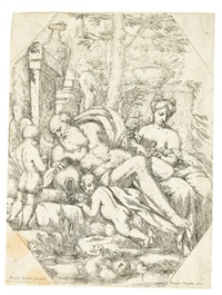 an allegory (+ 3 others, irgr; 4 works) by giuseppe diamantini