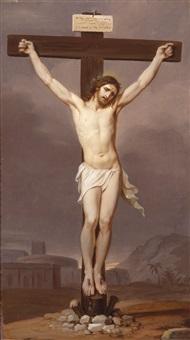 christus am kreuz by josef arnold the elder