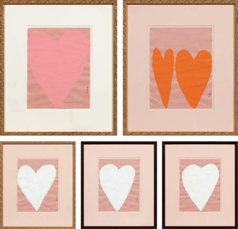 heart 5 works by cary s leibowitz candyass