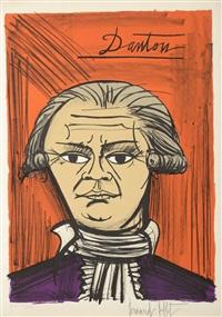 danton - suite la révolution française 1789 by bernard buffet