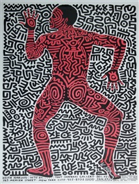 into 84 by keith haring