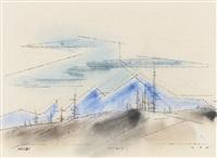 nevada by lyonel feininger