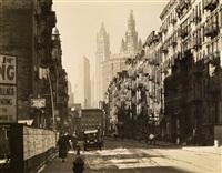henry street by berenice abbott