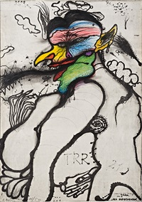 der fliegenesser by arnulf rainer