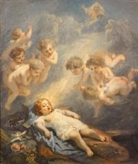 le rêve de l'enfant jésus by nicolas françois octave tassaert