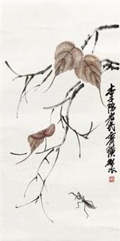 草虫 by qi baishi