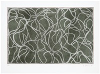 l.a. muses (from the moca portfolio) by brice marden