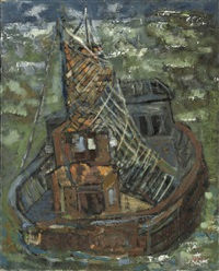 ship of fools (+ 2 others; 3 works) by dick romyn