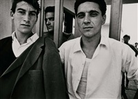 entrance to ostia beach rome by william klein