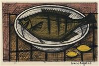 fish by bernard buffet
