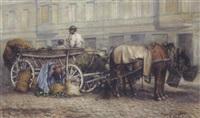 vorbereitung zum markttag by carl massmann