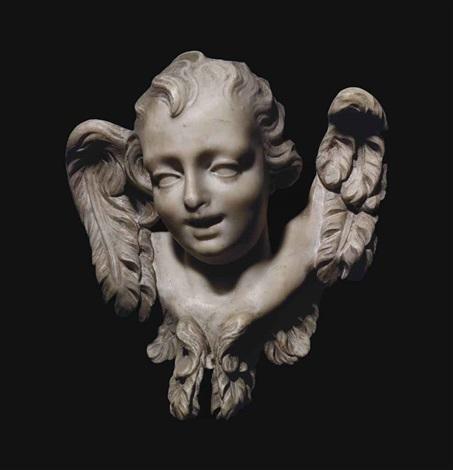 head of an angel by gian lorenzo bernini