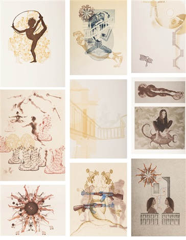 untitled 9 works by shahzia sikander