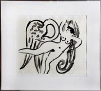leda and swan - 12 by reuben nakian