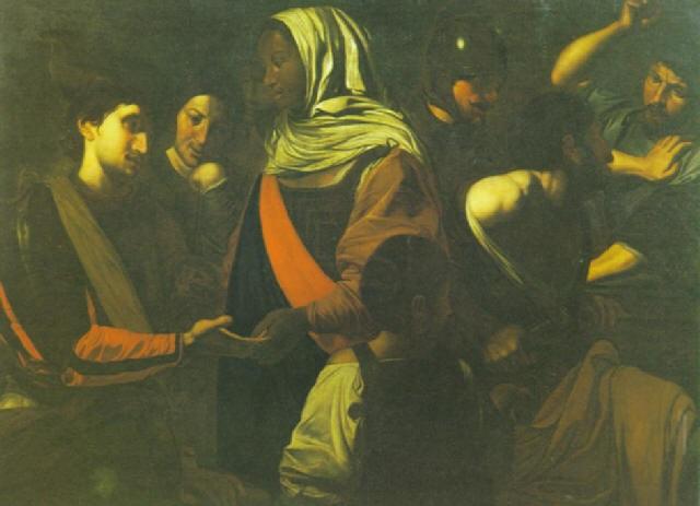 la buona ventura by jean valentin de boulogne