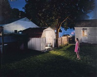 untitled (butterflies and shed) by gregory crewdson