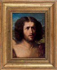 tête de saint jean-baptiste, esquisse by alexandre cabanel