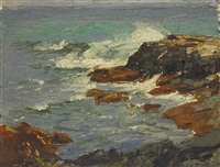 coast of maine by edward henry potthast