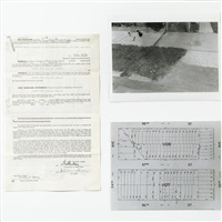 realty position - fake estate block 1107 lot 146 at 96th street (in 2 parts) by gordon matta-clark