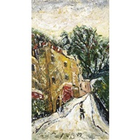 winter, guinea lane, bath by barrington tabb