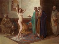 slave market by eduard ansen-hofmann