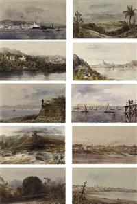 voyage dans l'amérique du sud (album of 98 works) by édouard quesnel