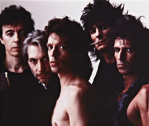 the rolling stones new york by annie leibovitz