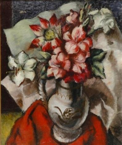 vase of flowers by bradley walker tomlin
