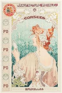 manufacture royale de corsets by henri privat-livemont