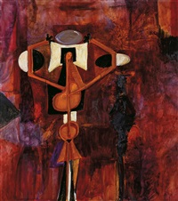 purple venus by george condo