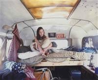 traveller series i (girl in the bus) by tom hunter