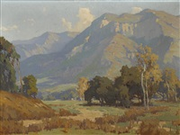 santa paula valley by marion kavanaugh wachtel
