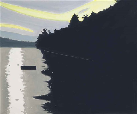 late light by alex katz