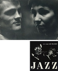 jazz (book w/109 works, quarto, first ed.) and chet baker (2 works) by ed van der elsken