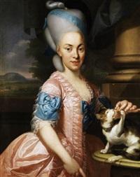 portrait eines nürnberger edelfräuleins by johann eberhard ihle